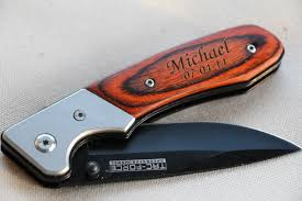 groomsmen knives groomsman knife gift for groomsmen pocket knife engraved