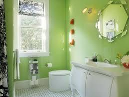 foolproof bathroom color combos hgtv bathroom sparkles with bright apple green walls