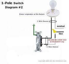 diagrams 550509 single switch light wiring diagram u2013 single pole
