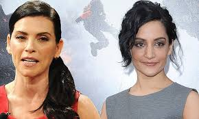 does julianna margulies hate archie archie panjabi takes to twitter to refute julianna margulies