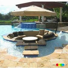 pool area ideas outdoor gardening create outdoor lounge with sunken seating area