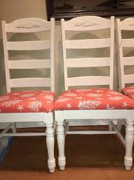 painted our broyhill fontana dining chairs with annie sloan old