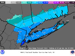 blizzard issued for island as snow total predictions