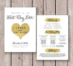 gold wedding programs 183 best wedding images on signage monitor and card stock
