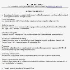Travel Experience On Resume Outstanding Synopsis In Resume 94 On Resume Cover Letter With