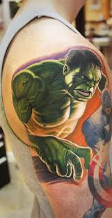 tattoo tuesday avengers gone geek