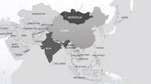 Ural River On World Map by Powerpoint Maps Asia With Countries Youtube