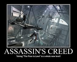 Funny Assassins Creed Memes - assassin s creed meets childhood games