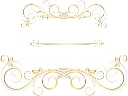 gold ornaments decorative png clip image gallery
