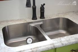 pictures of kitchen sinks and faucets undermount sink with laminate countertop miketechguy