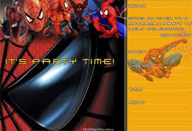 spiderman themed party invitations brisbane children u0027s magician