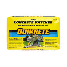 Quikrete Paver Base by Quikrete 40 Lb Vinyl Concrete Patcher 113340 The Home Depot