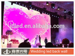 wedding backdrop led indoor smd p6 wedding stage backdrop decoration led wall view led