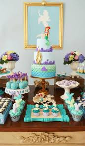21 marvelous mermaid party ideas for kids kids party tables