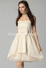 robe pas cher pour mariage robe courte féérique sans bretelles pas cher pour mariage