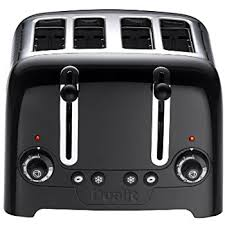 amazon black friday toasters dualit architect 4 slot toaster 40505 stainless steel with black