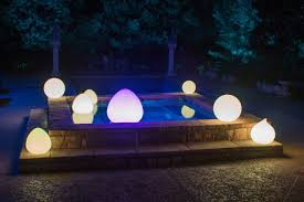 outdoor lighting trends led glow balls