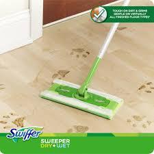 Laminate Floor Mop Swiffer Sweeper Dry Wet Starter Kit Walmart Com