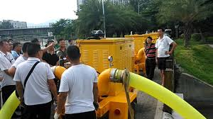 low volume water pump diesel trailer water pump project youtube