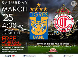 Fc Dallas Stadium Map by Toyota Stadium To Host Liga Mx Friendly Between Tigres And Toluca