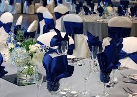 royal blue u0026 gray wedding ballroom at oak ridge decor by