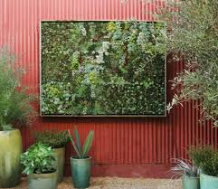beautifying the garden space living wall planter best wall