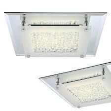 Bad Lampe Led Deckenleuchte 28 X 28 Cm Mit Spiegelrand 1010 Lumen Badlampe