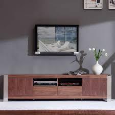 dynamic home decor 15 photos dark walnut tv stands