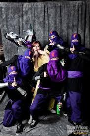 April Neil Halloween Costume Foot Clan Teenage Mutant Ninja Turtles Crawl