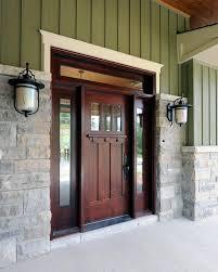 Colonial Exterior Doors Colonial Front Doors Exterior Traditional With Brick Rectangular