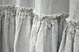 Ruffle Shower Curtain Uk - fabric shower curtains uk fabric shower curtain liner walmart