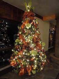 vibrant orange christmas tree decorations picturesque 10 best