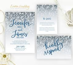 Royal Blue And Silver Wedding Silver Wedding Invitations Lemonwedding