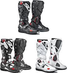 white motorbike boots sidi crossfire 2 motorcycle boots black white 2016 44 ebay