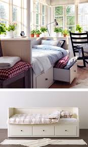 Ikea Hemnes Daybed Sofa By Day And Bed At Night The Ikea Hemnes Daybed Frame Has 3