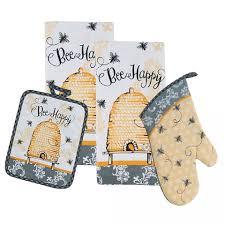 kay dee designs bumble bee happy kitchen ensemble kitchen towel