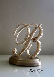 b cake topper wedding cake topper monogram letter r vintage by ndetaildesign