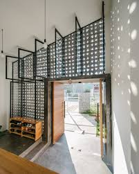 Building A Concrete Block House Lowly Concrete Block Gets Stylish Remix At Vietnam Home Curbed