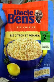 riz cuisiné riz cuisiné riz citron et romarin ben s 250 g
