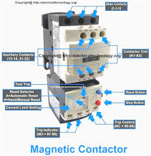 single phase contactor wiring diagram 2 pole for alluring diagrams