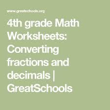 the 25 best 4th grade math worksheets ideas on pinterest