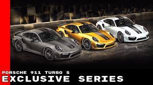 yellow porsche side view porsche 911 turbo s exclusive series youtube