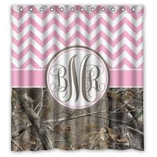 Camo Shower Curtain Best Pink Camo Shower Curtains Fabric Realtree Or Personalised On