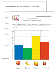 graphing worksheets for kids mreichert kids worksheets