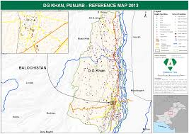 Punjab Map Dg Khan Punjab Referance Map Pakistan Alhasan Systems Private