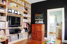 Floor To Ceiling Bookcases Floor To Ceiling Bookcase Family Room Eclectic With Bar Beadboard