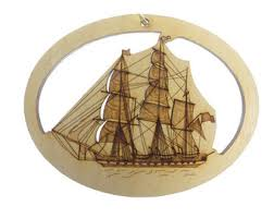 nautical ornament etsy