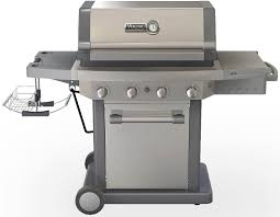 b q patio heaters viking rvbq130ss 58 inch freestanding lp gas grill with 769 sq in