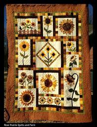 sunflower quilt quilts pinterest sunflower quilts