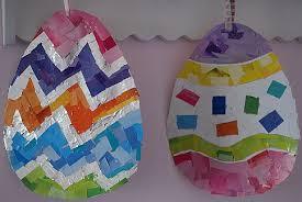 easter crafts for kids easter egg mosaic